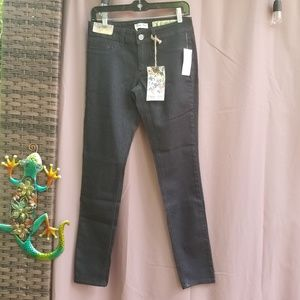 Indigo Rein Black Embellished Jeans